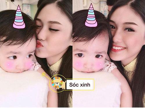 hotgirl 9x lam single mom: 'la phu nu hay nghi thoang len' - 10