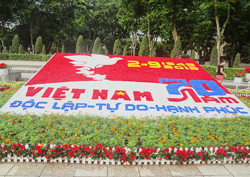 duong pho ha noi ruc ro co hoa dip quoc khanh 2/9 - 7