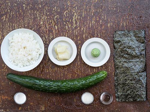 chi vai phut la xong sushi dua chuot - 1