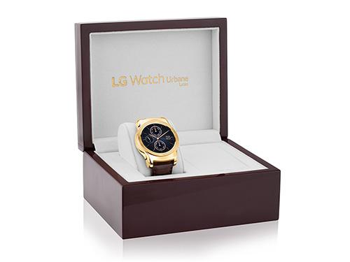 smartwatch lg watch urbane luxe ma vang, gia 27 trieu dong - 1