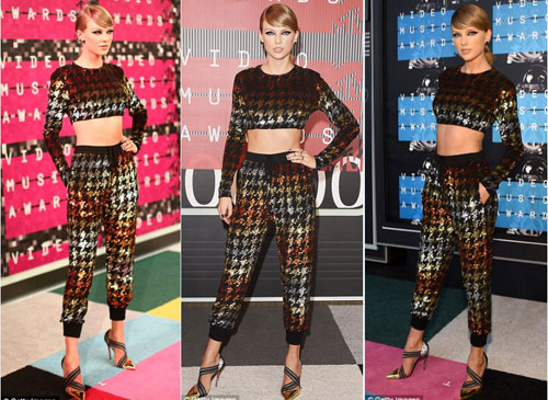 "taylor swift ""danh bai"" dan chi tai video music awards - 1"