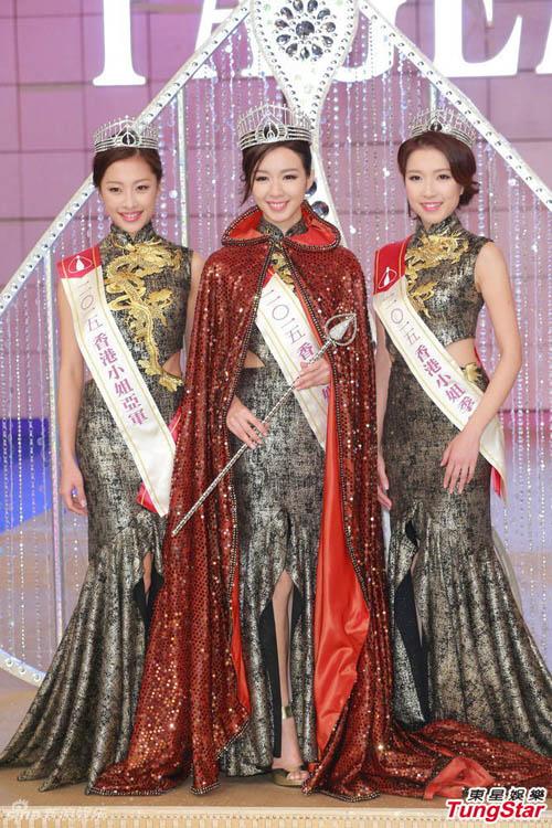 nhan sac de thuong cua tan hoa hau hong kong 2015 - 16