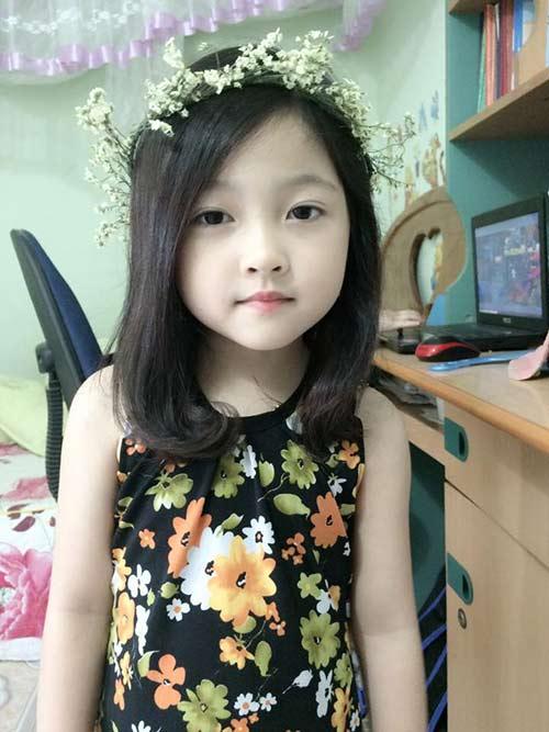 "be gai 5 tuoi duoc khen ""xinh hon"" hh ky duyen - 3"