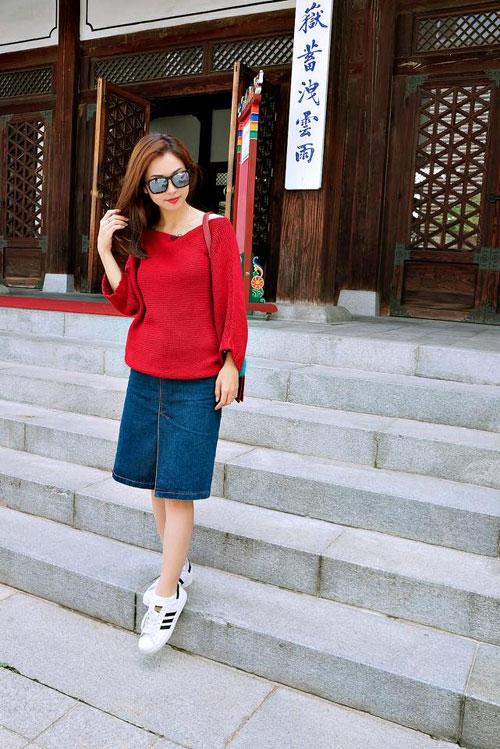 thuy tien hanh phuc truoc su lang man cua cong vinh - 13