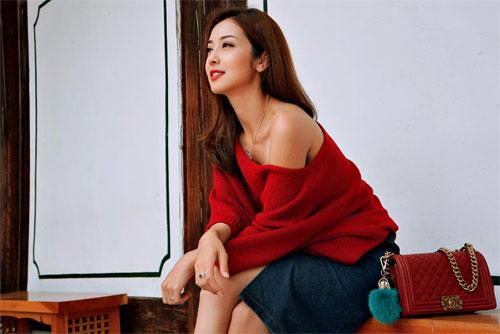 thuy tien hanh phuc truoc su lang man cua cong vinh - 14
