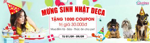 shop gia dinh deca tang hang nghin coupon hap dan - 1