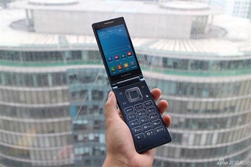Ảnh điện thoại nắp gập chạy Android mạnh nhất thế giới của Samsung-4