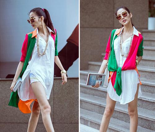 Sao Việt cách tân trang phục truyền thống đẹp và khéo-8