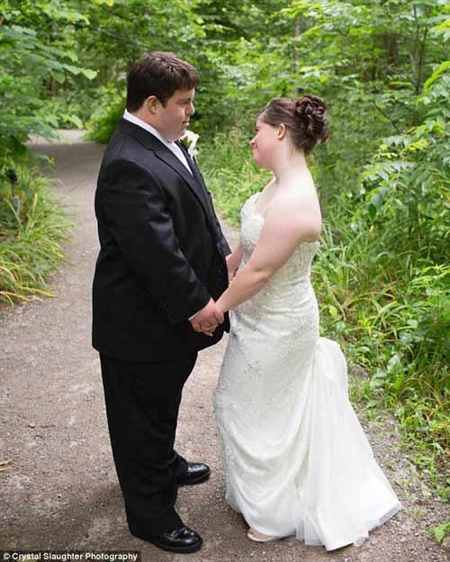 Lá thư cha viết cho con gái bị down trong ngày cưới-6