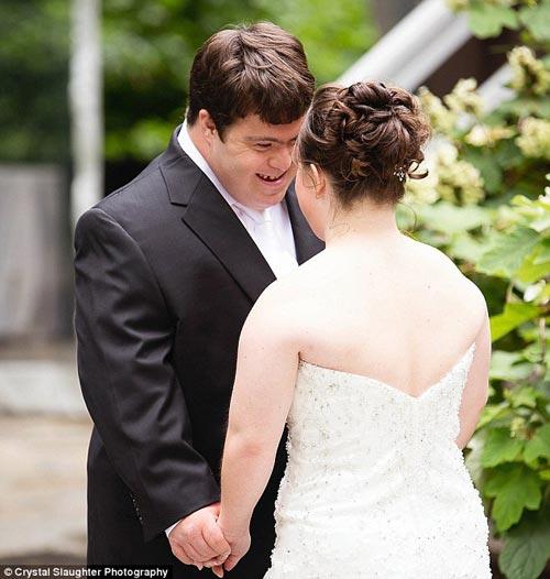 Lá thư cha viết cho con gái bị down trong ngày cưới-7