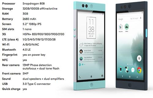 """robin: smartphone """"luu tru may"""" cua cuu nhan vien google, htc - 10"""