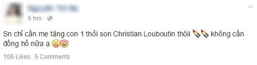 """Chị em Việt """"mất ăn mất ngủ' vì thỏi son Christian Louboutin - 12"""