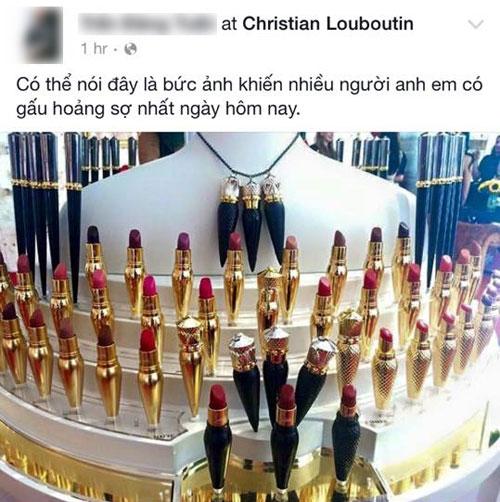 """Chị em Việt """"mất ăn mất ngủ' vì thỏi son Christian Louboutin - 13"""