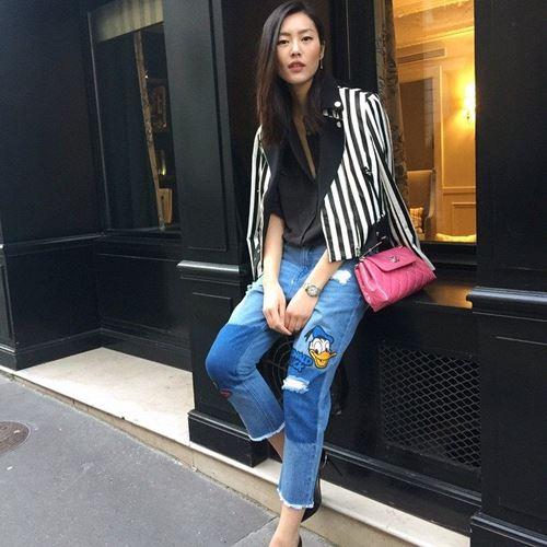 lam moi chiec quan jeans cu ky sanh dieu nhu liu wen - 2