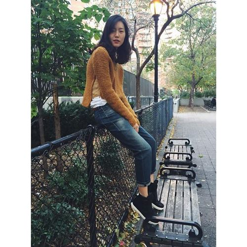 lam moi chiec quan jeans cu ky sanh dieu nhu liu wen - 5