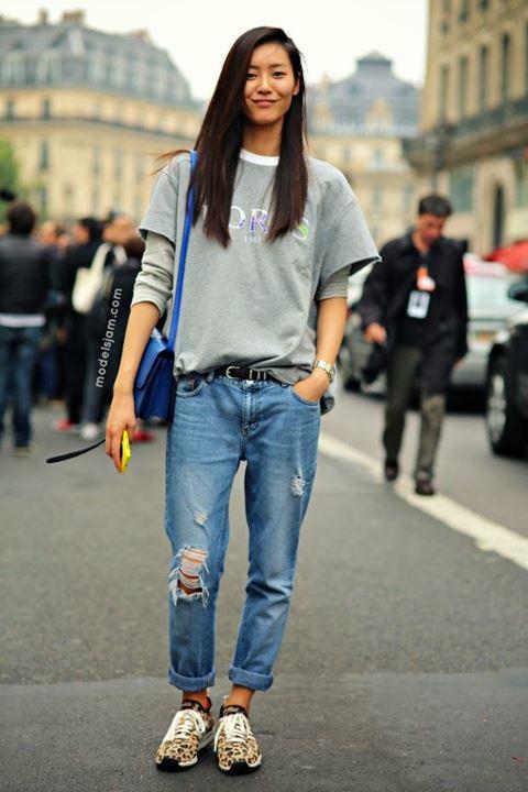 lam moi chiec quan jeans cu ky sanh dieu nhu liu wen - 8