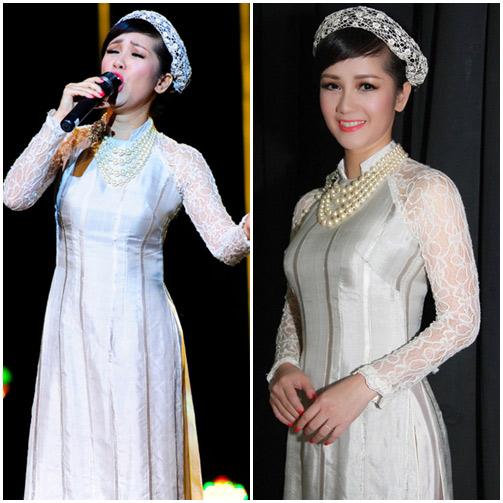 Mấy ai U50 mặc áo dài quyến rũ được như diva Hồng Nhung-2