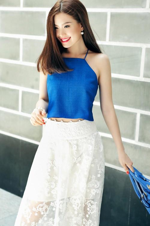 Diễm Trang đẹp rạng ngời sau khi công khai chồng sắp cưới-2