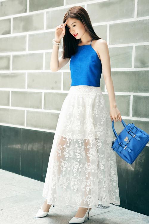 Diễm Trang đẹp rạng ngời sau khi công khai chồng sắp cưới-3