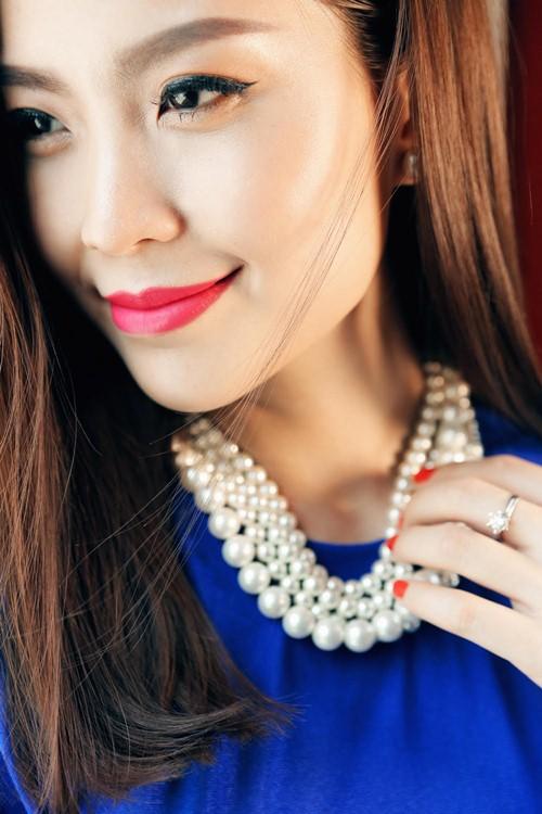 Diễm Trang đẹp rạng ngời sau khi công khai chồng sắp cưới-4