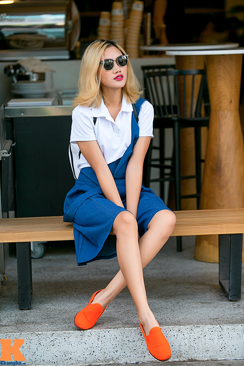 Stylist Pông Chuẩn chọn đồ độc - đẹp cho nữ sinh-3