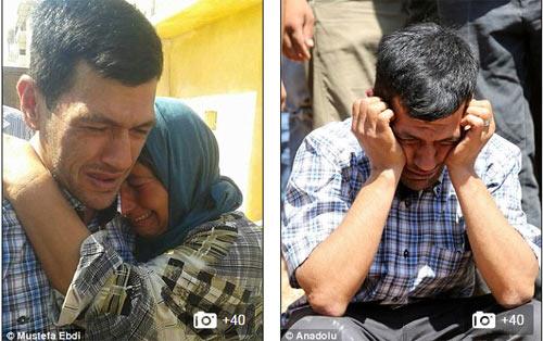 Xót xa giây phút tiễn đưa bé trai Syria chết đuối trên biển-5