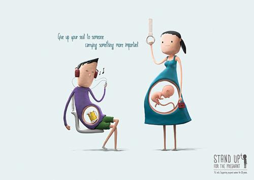 Vì sao nên nhường chỗ cho các mẹ bầu?-1