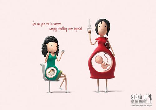 Vì sao nên nhường chỗ cho các mẹ bầu?-3
