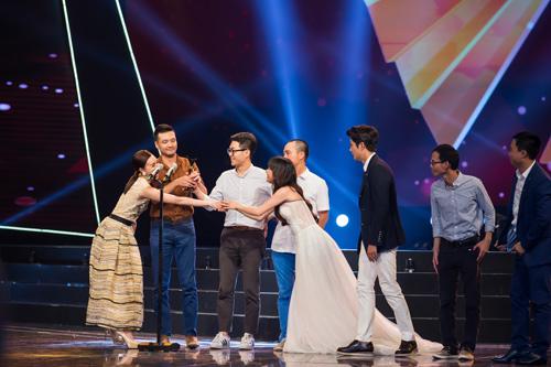 "my nam han ''vuot mat"" hong dang chien thang vtv awards - 5"