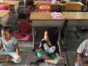 Tin trong nước - TQ: Bắt học sinh tiểu học ngồi thiền thay ngủ trưa
