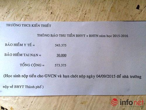 "bhyt hoc sinh tang dot bien, giao vien giai thich ""kho ca mieng"" - 1"