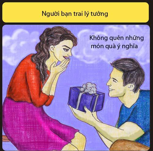 ban trai ly tuong khong liec mat nhin co gai khac - 4