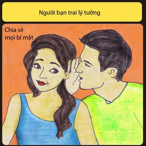 ban trai ly tuong khong liec mat nhin co gai khac - 5