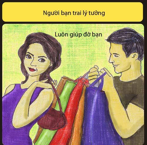 ban trai ly tuong khong liec mat nhin co gai khac - 6