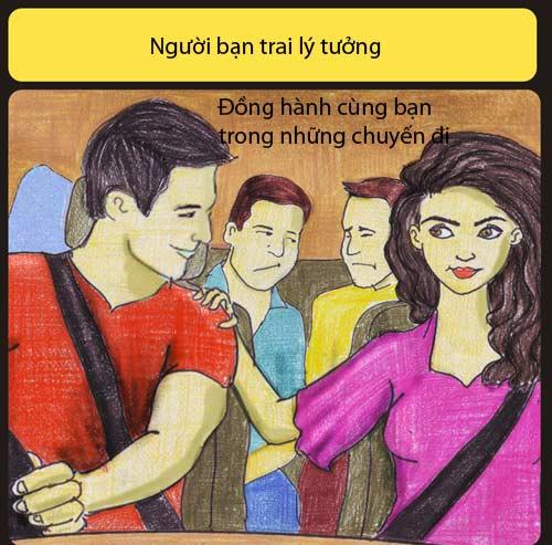 ban trai ly tuong khong liec mat nhin co gai khac - 7