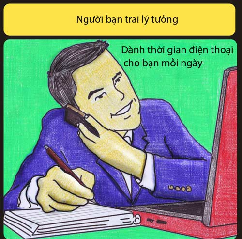 ban trai ly tuong khong liec mat nhin co gai khac - 9