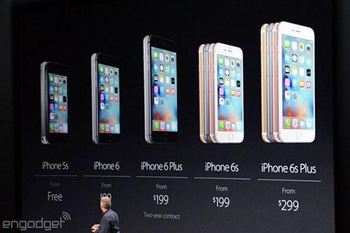 apple giam gia iphone 5s, 6 va 6 plus - 1