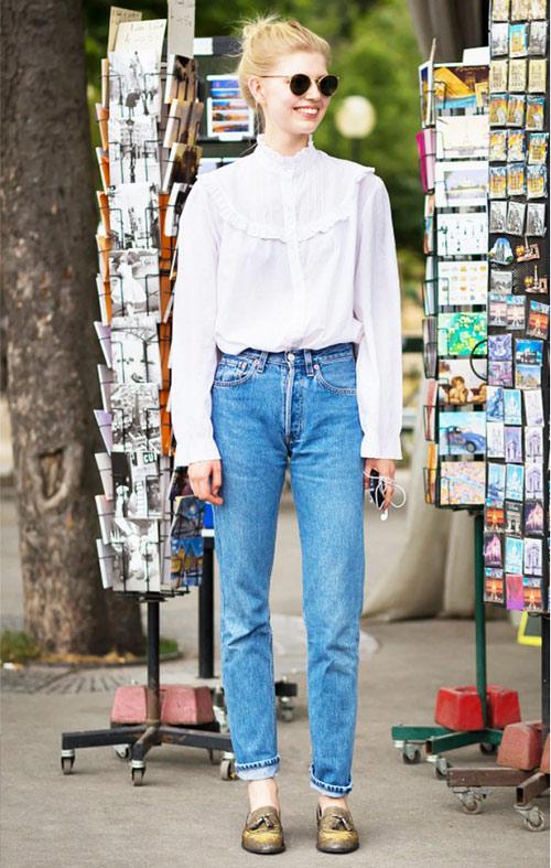 chon giay thu dong cho nhung mau jeans mot nhat - 14