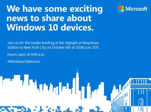 microsoft ra mat thiet bi windows 10 moi vao 6-10 - 1