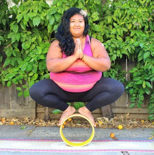 nguong mo co gai thua can van tap yoga dieu luyen - 2