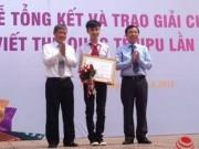Tin trong nước - Việt Nam đạt giải Khuyến khích Cuộc thi Viết thư UPU lần 44 quốc tế