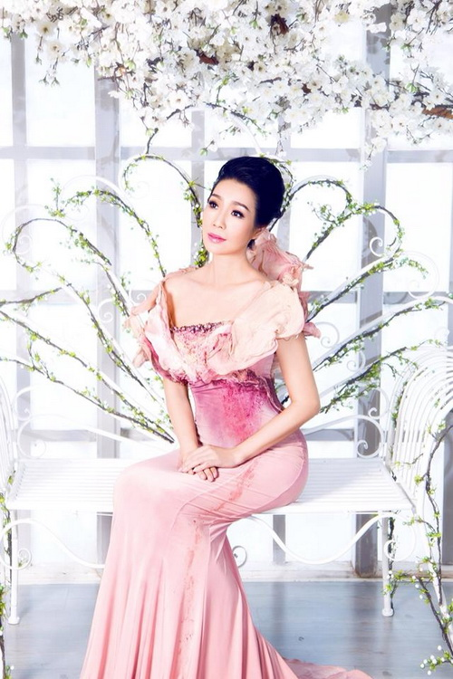 """trinh kim chi """"thon nhu gai son"""" sau 3 thang sinh con - 1"""