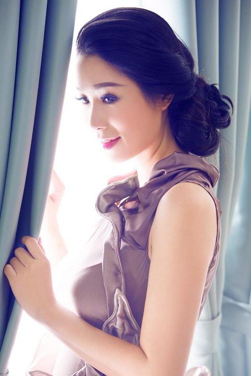 """trinh kim chi """"thon nhu gai son"""" sau 3 thang sinh con - 8"""