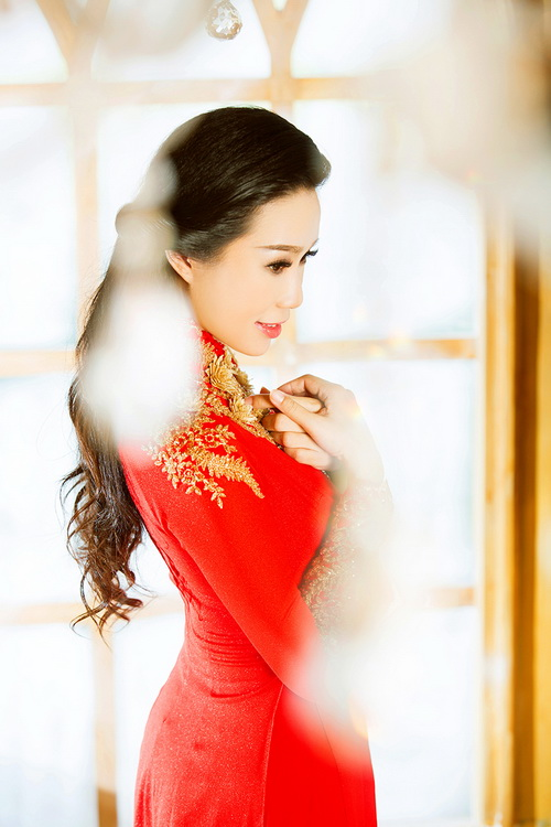 """trinh kim chi """"thon nhu gai son"""" sau 3 thang sinh con - 11"""