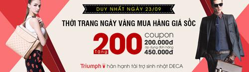 dai tiec thoi trang – khuyen mai soc – tang coupon 200.000d - 1