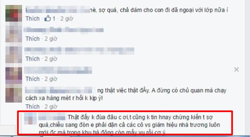 """thuc hu chuyen """"bat coc tre em truoc mat co giao"""" o hn - 2"""