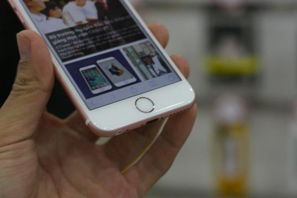 can canh iphone 6s mau vang hong dau tien ve viet nam - 3