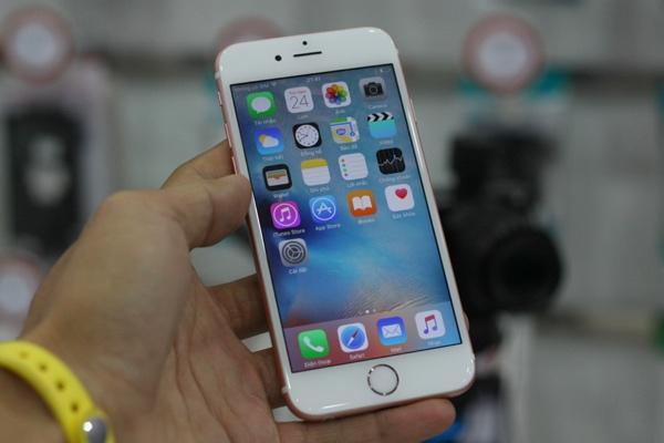 can canh iphone 6s mau vang hong dau tien ve viet nam - 11