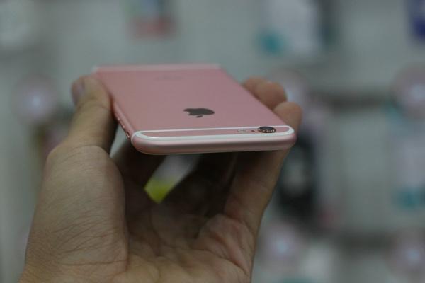 can canh iphone 6s mau vang hong dau tien ve viet nam - 10