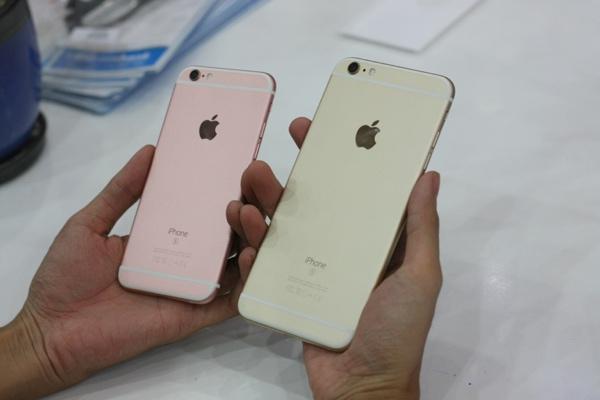 can canh iphone 6s mau vang hong dau tien ve viet nam - 12